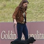 Prince William and Catherine with Lupo at a charity polo match 117790
