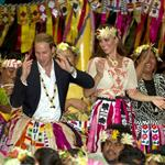 Prince William, Duke of Cambridge and Catherine, Duchess of Cambridge in Tuvalu as part of their Diamond Jubilee tour  126538