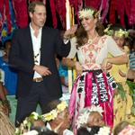 Prince William, Duke of Cambridge and Catherine, Duchess of Cambridge in Tuvalu as part of their Diamond Jubilee tour  126539