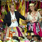 Prince William, Duke of Cambridge and Catherine, Duchess of Cambridge in Tuvalu as part of their Diamond Jubilee tour  126540