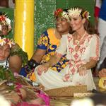 Prince William, Duke of Cambridge and Catherine, Duchess of Cambridge in Tuvalu as part of their Diamond Jubilee tour  126548