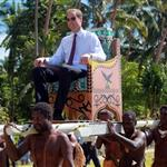 Prince William, Duke of Cambridge and Catherine, Duchess of Cambridge in Tuvalu as part of their Diamond Jubilee tour  126555