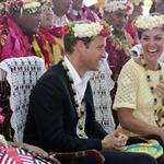 Prince William, Duke of Cambridge and Catherine, Duchess of Cambridge in Tuvalu as part of their Diamond Jubilee tour  126562