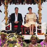 Prince William, Duke of Cambridge and Catherine, Duchess of Cambridge in Tuvalu as part of their Diamond Jubilee tour  126573
