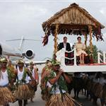 Prince William, Duke of Cambridge and Catherine, Duchess of Cambridge in Tuvalu as part of their Diamond Jubilee tour  126575