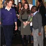 Catherine, Duchess of Cambridge and Prince William visit homeless charity Centrepoint in Camberwell  101175
