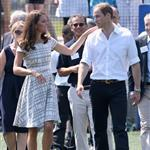 Catherine, Duchess of Cambridge Prince William, Duke of Cambridge and Prince Harry visit Bacon's College in East London 121660