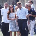 Catherine, Duchess of Cambridge Prince William, Duke of Cambridge and Prince Harry visit Bacon's College in East London 121668