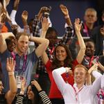 Prince William, Duke of Cambridge and Catherine, Duchess of Cambridge with Lady Louise Windsor and Sophie, Countess of Wessex on day 1 of the London 2012 Paralympic Games 124490