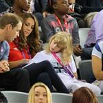 Prince William, Duke of Cambridge and Catherine, Duchess of Cambridge with Lady Louise Windsor and Sophie, Countess of Wessex on day 1 of the London 2012 Paralympic Games 124502