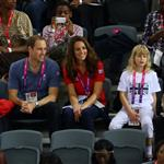 Prince William, Duke of Cambridge and Catherine, Duchess of Cambridge with Lady Louise Windsor and Sophie, Countess of Wessex on day 1 of the London 2012 Paralympic Games 124509