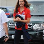 Catherine, Duchess of Cambridge on day 1 of the London 2012 Paralympic Games 124518