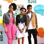 Jada Pinkett Smith, Willow Smith and Jaden Smith at Nickelodeon's 25th Annual Kids' Choice Awards 110306