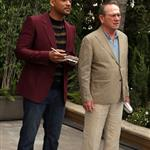 Will Smith and Tommy Lee Jones at the Men In Black 3 Photocall in Beverly Hills 113315