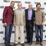 Will Smith, Tommy Lee Jones, Barry Sonnenfeld and Josh Brolin at the Men In Black 3 Photocall in Beverly Hills 113319
