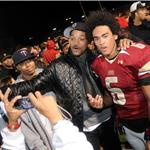 Will Smith celebrates high school championship with son Trey  74822