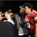Will Smith celebrates high school championship with son Trey  74825