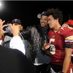 Will Smith celebrates high school championship with son Trey  74827