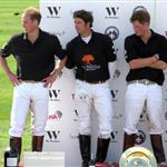 Prince William at the Ascot for polo match with Prince Harry 42322