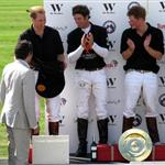 Prince William at the Ascot for polo match with Prince Harry 42323