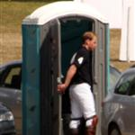 Prince William uses a portable potty 42324