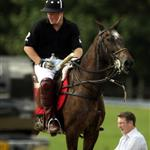 Prince William at thr Ascot for polo match with Prince Harry 42328