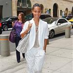 Jada Pinkett-Smith in New York yesterday 109107