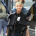 Willow Smith in New York yesterday 109111