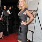 Kate Winslet super tanned and super blonde at The Reader premiere in New York 28514