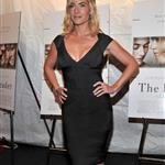 Kate Winslet super tanned and super blonde at The Reader premiere in New York 28513