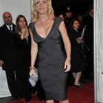 Kate Winslet super tanned and super blonde at The Reader premiere in New York 28510