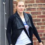 Kate Winslet and Sam Mendes take the kids to school together  58247