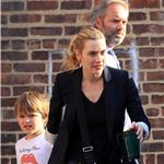 Kate Winslet and Same Mendes out with their kids for the second day in a row 58341