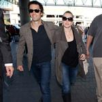 Kate Winslet and Ned Rocknroll at LAX 103287