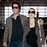 Kate Winslet and Ned Rocknroll at LAX 103282
