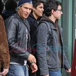 Taylor Lautner and Chris Weitz - first look at Wolf Pack in New Moon 35098