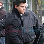 Taylor Lautner and Chris Weitz - first look at Wolf Pack in New Moon 35103