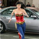 Adrianne Palicki shoots Wonder Woman in LA with costume adjustments  82325