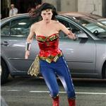 Adrianne Palicki shoots Wonder Woman in LA with costume adjustments  82326