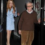 Lindsay Lohan and Woody Allen leave Phillippe restaurant  113445