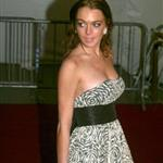 Lindsay Lohan at the Met Gala, 2006 113455