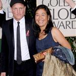Woody Harrelson and wife Laura at the 2010 Golden Globes in January  76514