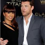Sam Worthington and Natalie Mark at LA premiere of Clash of the Titans 57998