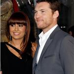 Sam Worthington and Natalie Mark at LA premiere of Clash of the Titans 58002