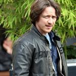 James McAvoy out in London promoting X-Men: First Class  86650