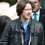 James McAvoy out in London promoting X-Men: First Class  86654
