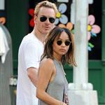 Michael Fassbender and Zoe Kravitz in New York 86660