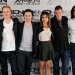 Cast of X-Men: First Class at photo call in London  85923