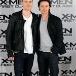 Michael Fassbender and James McAvoy at X-Men: First Class photo call in London  85929