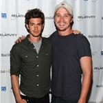 Andrew Garfield Garrett Hedlund bromance in Hawaii  87790